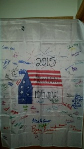 9th Annual Farm Party Banner