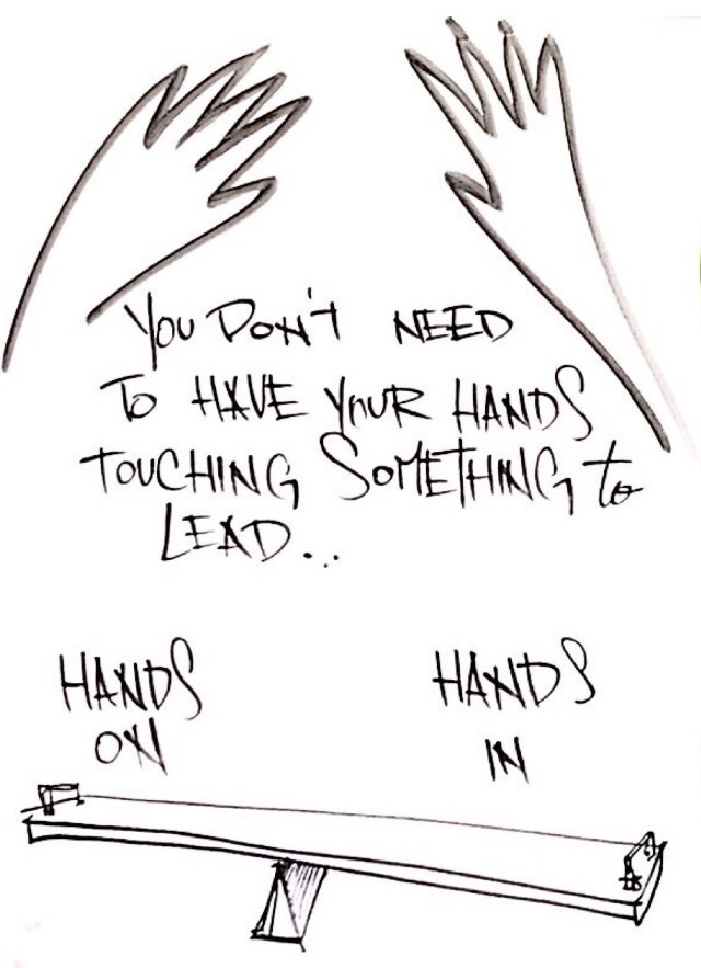 Hands On Hands In Leadership Byrons Babbles